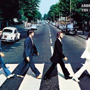 The Beatles Abbey Road Poster multicolour