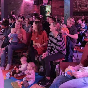 BYOBaby Comedy at Studio at New Wimbledon Theatre