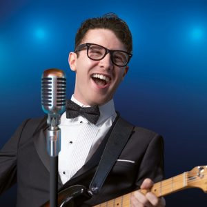 Buddy Holly and The Cricketers at Leas Cliff Hall, Folkestone