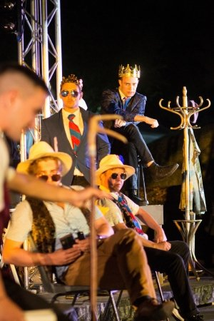 HENRY V by Maltings Open Air Theatre Festival Company.