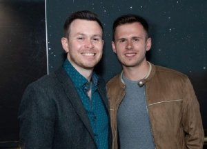 John-Webb Carter and Jamie Chapman Dixon