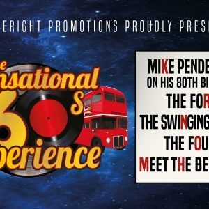 The Sensational 60s Experience at Leas Cliff Hall, Folkestone