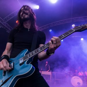 UK Foo Fighters at Leas Cliff Hall, Folkestone