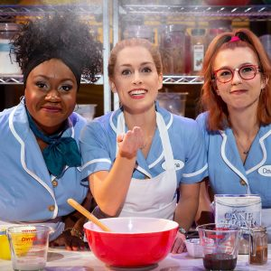 Waitress at Milton Keynes Theatre