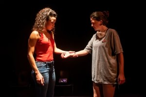 Remmie Milner (Stella), Gemma Lawrence (Marie). Credit Lidia Crisafulli.