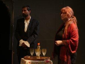 Dhvel Patel (Ekdal) and Sonja Kristine (Mrs Sorby)