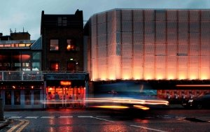 Young Vic Exterior Today (c) Philip Vile.