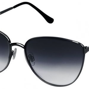 Cat Eye Shadow Sunglasses black