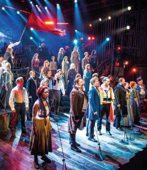 Les Misérables The Staged Concert Company - Photograph Michael Le Poer Trench.