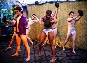 Eclectic Full Contact Theatre presents Naked Boys Singing