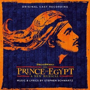 The Prince of Egypt Cast Recording CD