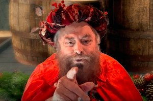 Brian Blessed in A Christmas Carol