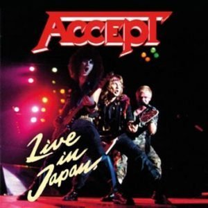 Accept Live in Japan CD multicolor