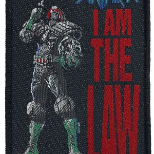 Anthrax I Am The Law Patch multicolour