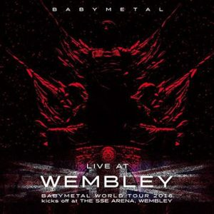 Babymetal Live at Wembley CD multicolor