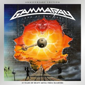 Gamma Ray Land Of The Free CD multicolor