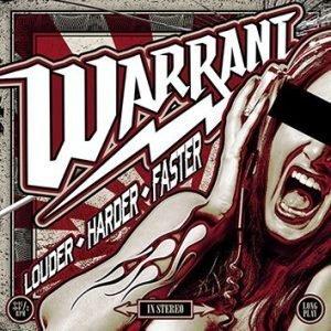 Warrant Louder Harder Faster CD multicolor