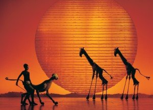 Disney's The Lion King at the Lyceum Theatre, London. Photo by Catherine Ashmore.