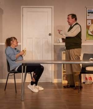 TRESTLE production photos of Jilly Bond and Chris Pickles by Pavel Goneski.