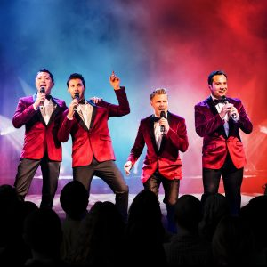 The Barricade Boys at Grand Opera House York