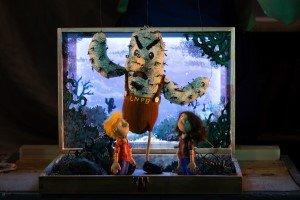 Little Angel Theatre's 'Where the Bugaboo Lives' photo by Ellie Kurttz