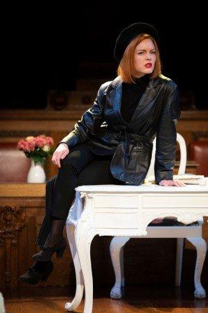 Alexandra Guelff in Witness for the Prosecution. 2020 Cast. Ellie Kurttz.