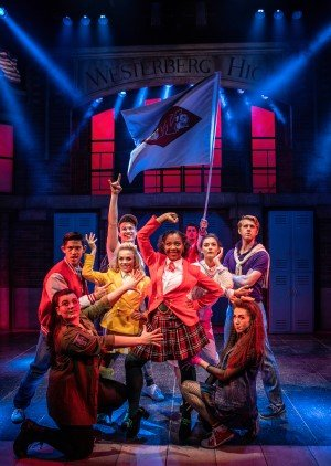 PAST PRODUCTION IMAGES 2018 - The Cast of Heathers The Musical - Pamela Raith Photography