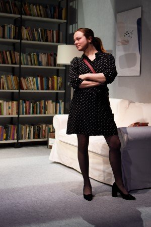 OLEANNA - Rosie Sheehy (Carol). Photo © Nobby Clark.
