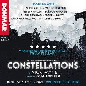 Constellations at the Vaudeville Theatre