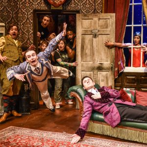 The Play That Goes Wrong at Princess Theatre, Torquay