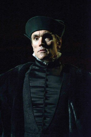 Ben Miles as Thomas Cromwell in Bring up the Bodies photo by Keith Pattison.