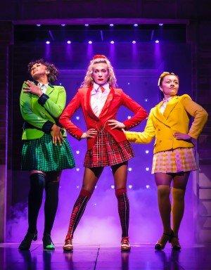 L-R Bobbie Little, Jodie Steele & Frances Mayli McCann - Heathers - Theatre Royal Haymarket - Pamela Raith Photography