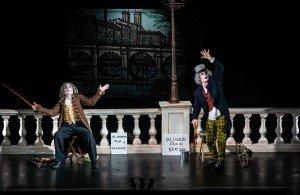 Opera Della Luna's CURTAIN RAISERS Paul Featherstone and Tim Walton in Les Deux Aveugles - Photo Credit Jacob Savage.