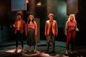 Dalton Harris, Grace Mouat, Lee Mead, Kerry Ellis, Closer Than Ever (credit Bonnie Britain).