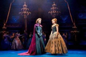 Disney's Frozen - Samantha Barks (Elsa), Stephanie McKeon (Anna), Ensemble - Photo by Johan Persson Copyright Disney.