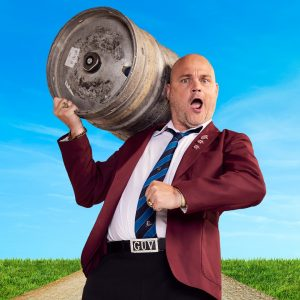 Al Murray's Gig For Victory at Leas Cliff Hall, Folkestone